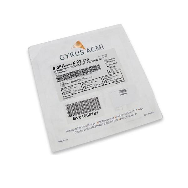 ACMI Surgitek Closed Tip Ureteral Stent6 Fr22 cm