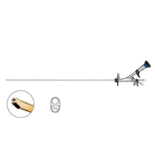 Olympus 8.6 9.8 Fr OES Pro Semi Rigid Ureteroscope 6.4 Fr Single Channel Angled 7o 430 mm with A0396 Attachment
