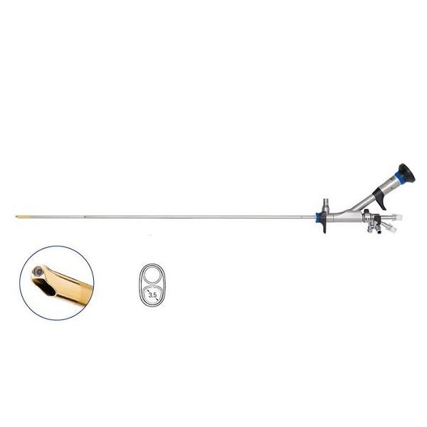Olympus 8.6 9.8 Fr OES Pro Semi Rigid Ureteroscope 6.4 Fr Single Channel Angled 7o 430 mm