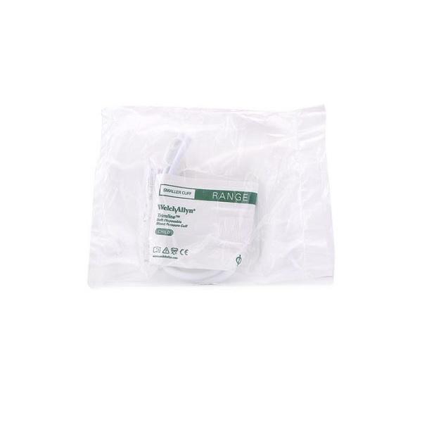 Welch Allyn Trimline Disposable Blood Pressure Cuff Child 2 Tubes 1
