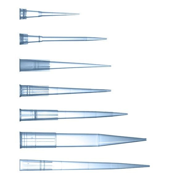 Pipette Tips Bulk in Resealable Bags PP