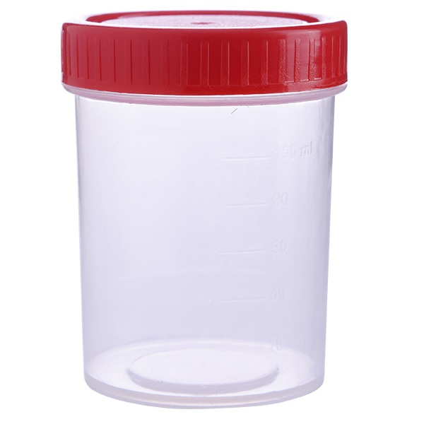Sample Container PP HDPE