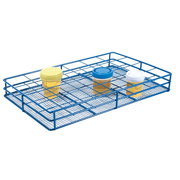 Wire Sample Container Rack Epoxy Coated Steel