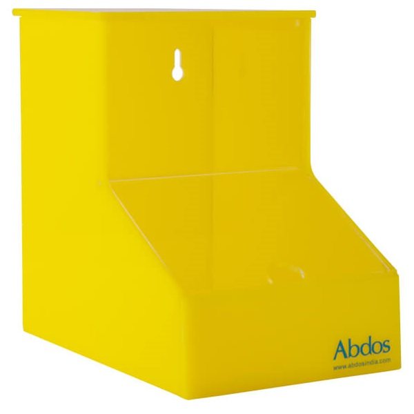 Workstation storage/ Dispenser Bin, ACRYLIC is available for best price at Medpick.